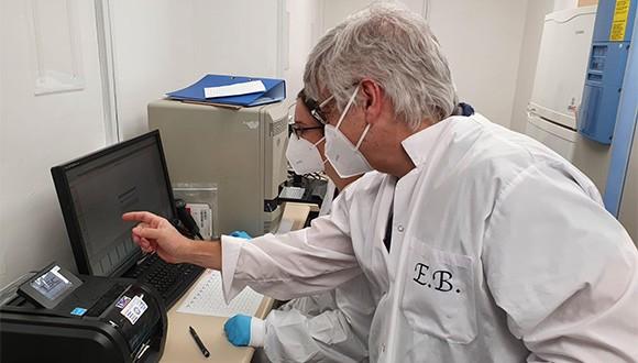 Donated Equipment Aids in Urgent Coronavirus Research