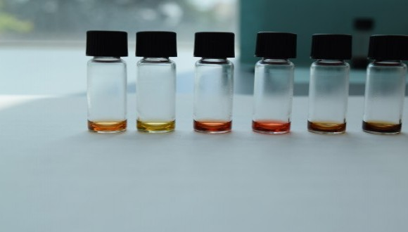 Pigments Supernatants. Credit: Dr. Ayala Lampel