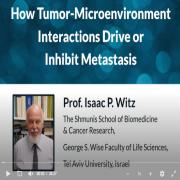 HSTalks present: Prof. Issac Witz